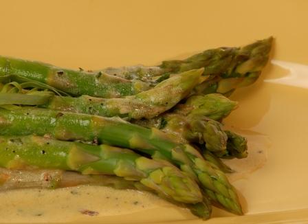 Warm Asparagus Salad with Creamy Tarragon Vinaigrette ...