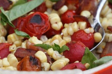 corn tomato salad