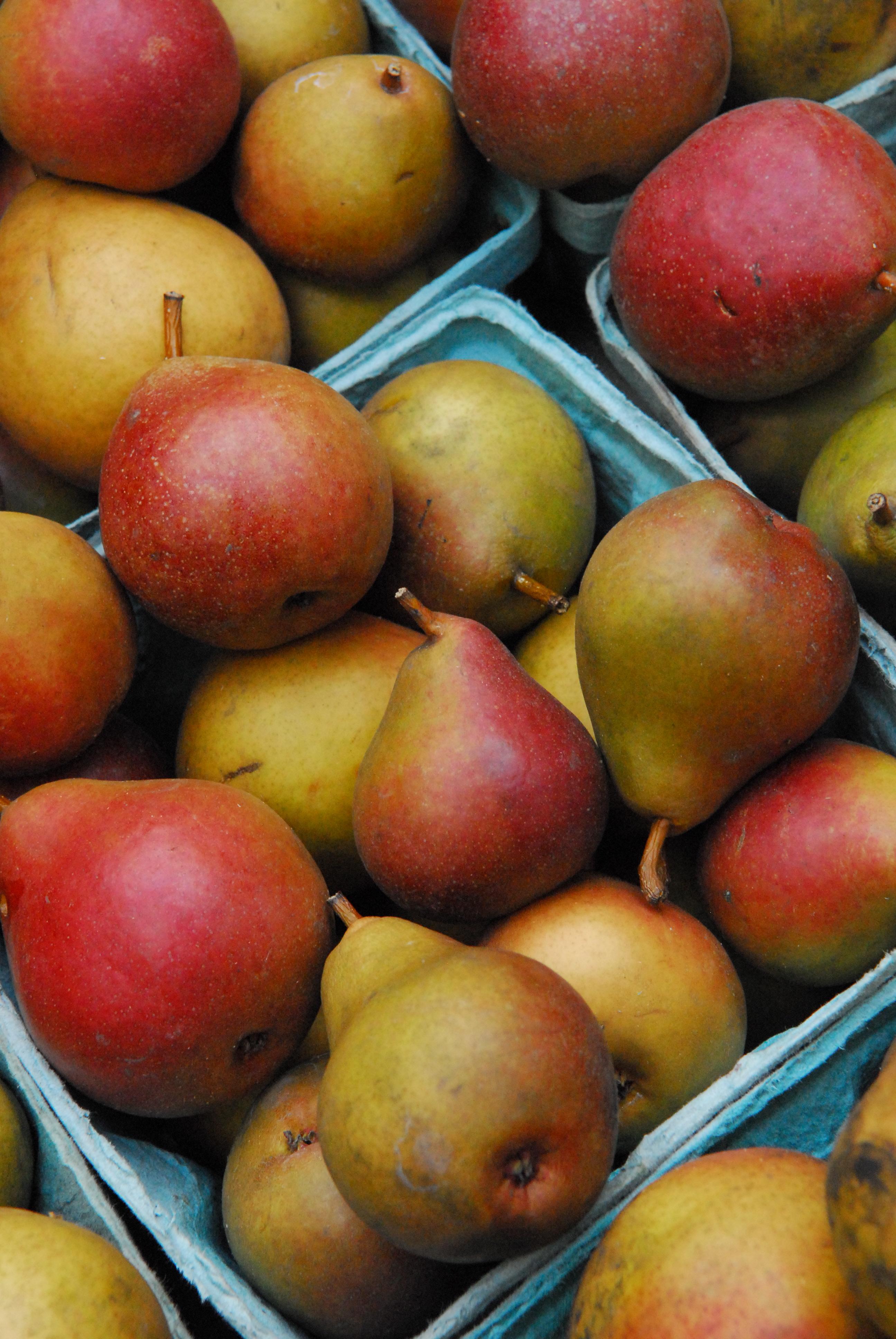heap of tiiny pears
