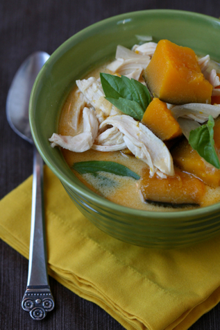 Thai Inspired Chicken Coconut And Kabocha Stew