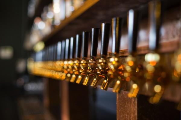 Capitol Cider taps