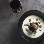 celeriac and pork belly soup