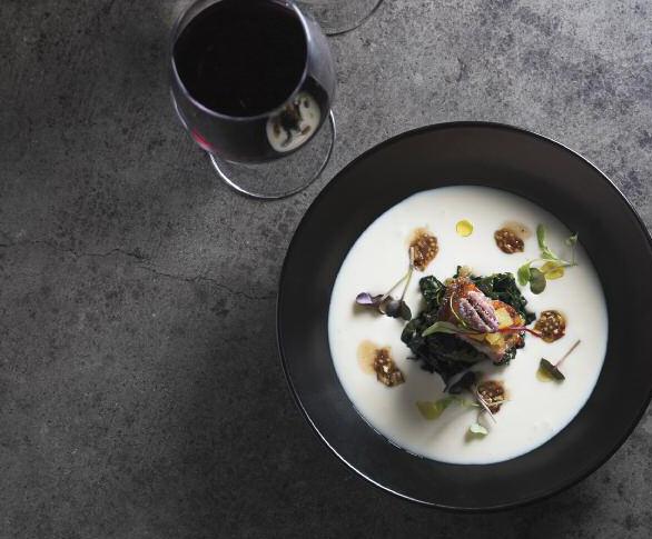 celeriac and pork belly soup