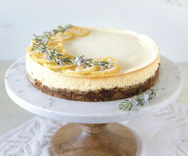 cheesecake rosemary pic