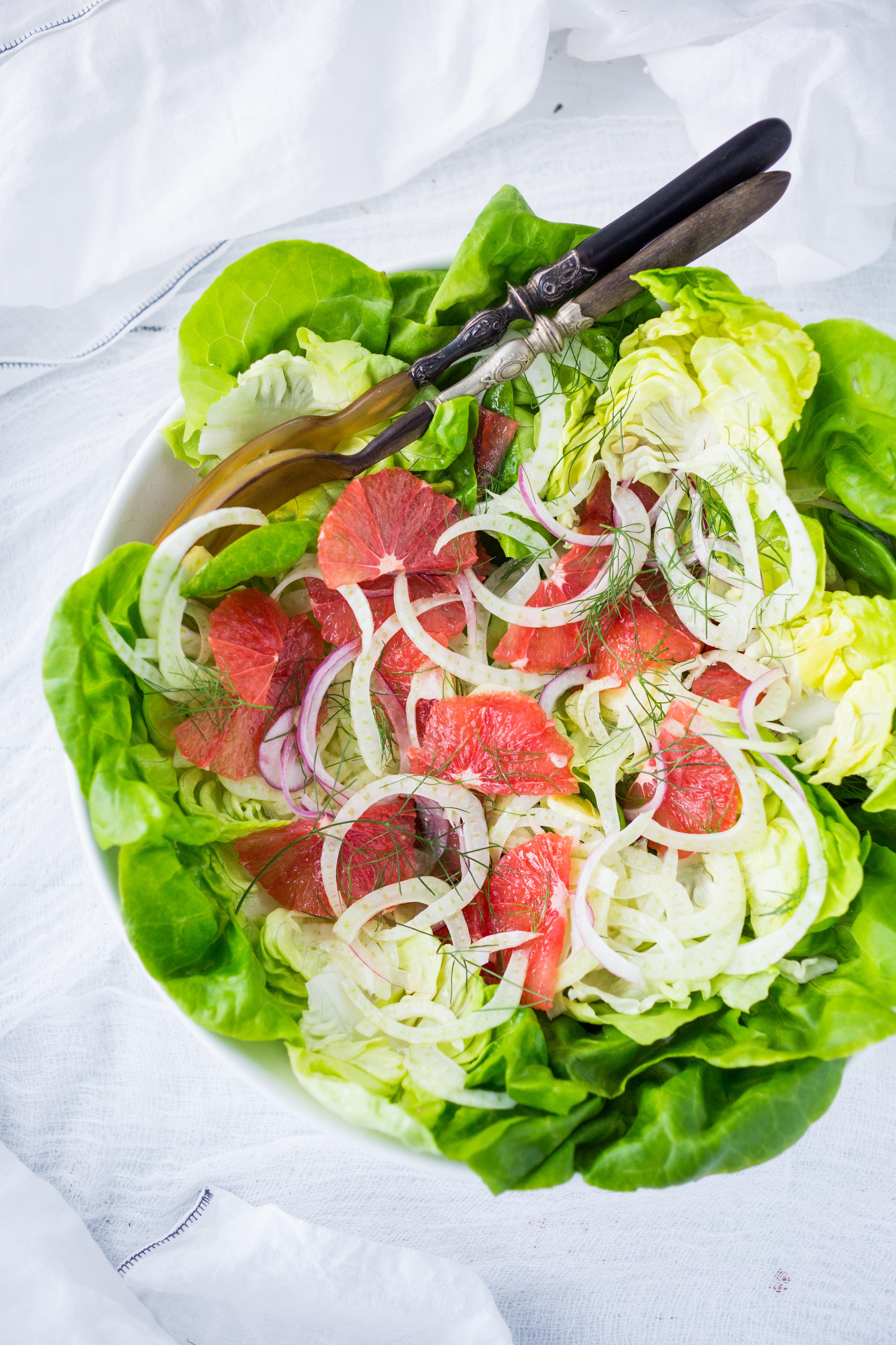 Grapefruit Fennel Salad-403